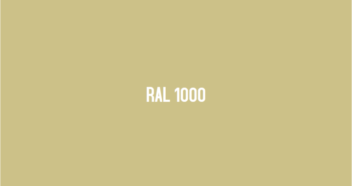 ral 1000