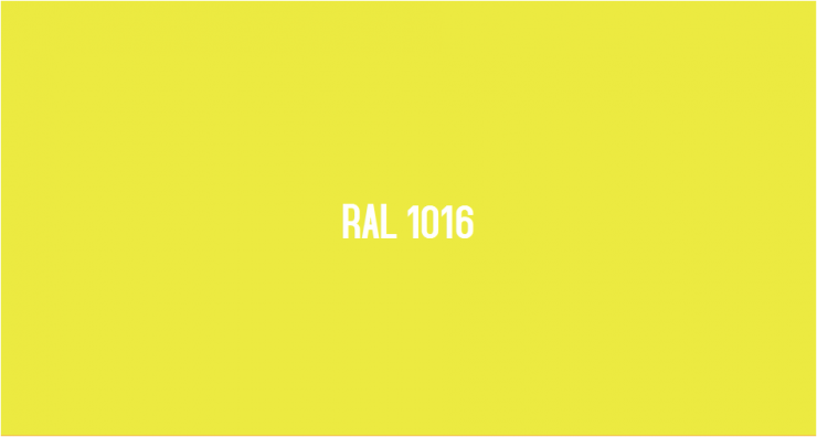 RAL 1016