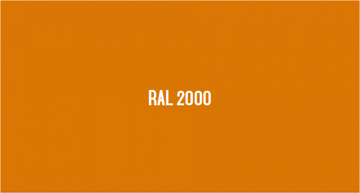 RAL 2000