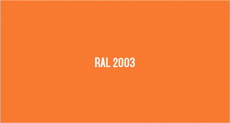 RAL 2003