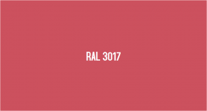 RAL 3017