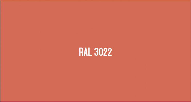 RAL 3022
