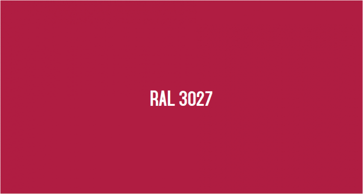 RAL 3027