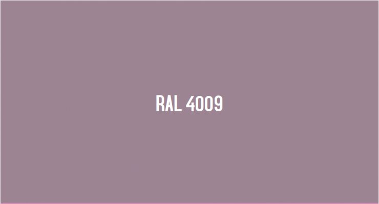 RAL 4009