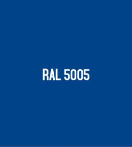 Couleur RAL 5005 : Bleu de sécurité