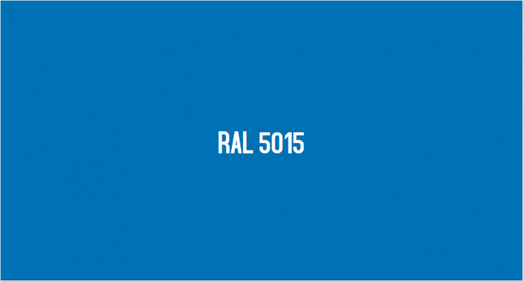 RAL 5015