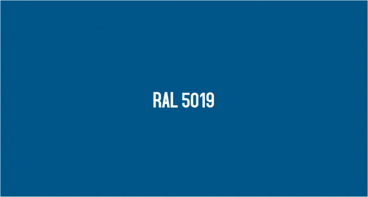 RAL 5019