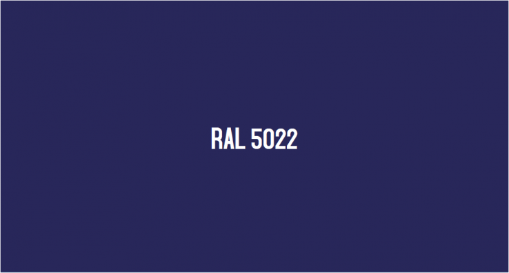 RAL 5022