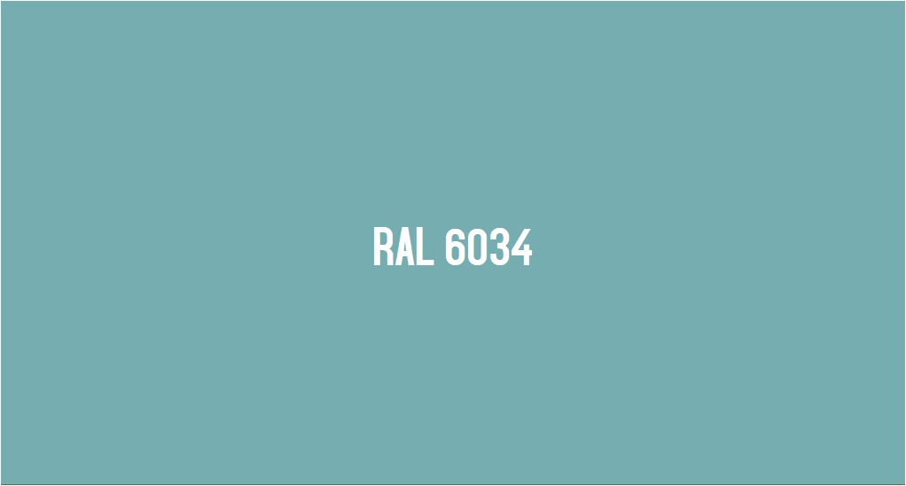 ral 6034