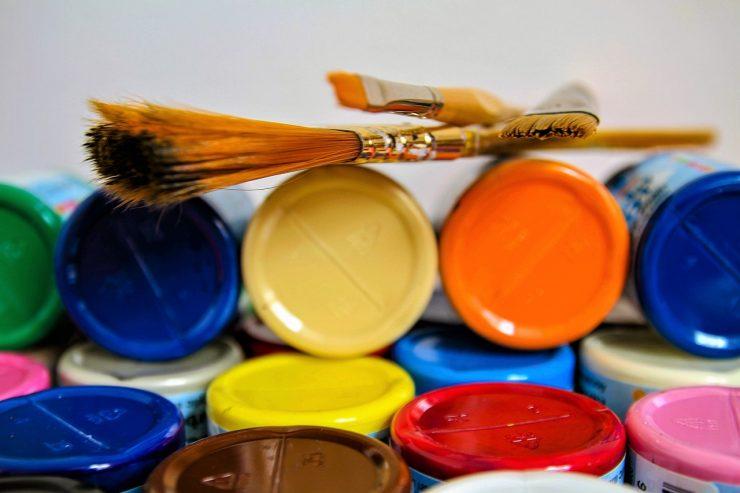 Nuancier pot peinture