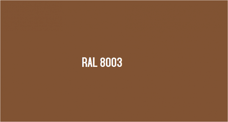 ral 8003
